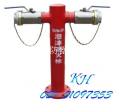 PSS100-65X2泡沫消火栓 消防室外泡沫栓