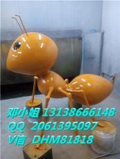 農場大螞蟻雕塑景觀擺設巨型玻璃鋼昆蟲現貨