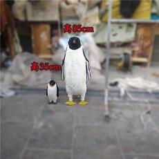 仿真企鵝標本展館1比1企鵝模型擺件