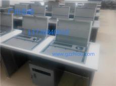 多媒體教室專業液晶屏隱藏電腦桌