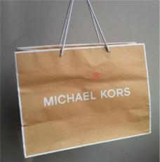 高檔 服裝牛皮紙袋定做 環保白牛皮購物袋