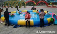 贵州铜仁各种类型充气水池三乐厂家生产定做