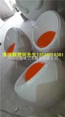 江苏玻璃钢家具休闲椅雕塑
