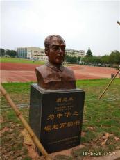 周恩來故居玻璃鋼朱德塑像紀念館站立仿銅像
