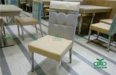 簡易肯德基快餐桌椅批發 一桌四椅防火板手
