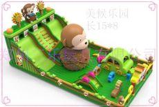 兒童大型充氣滑梯河南生產基地