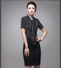 2016夏季新款职业装女装套裙套装短袖OL气质