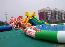 儿童充气游泳池 大型户外水上乐园组合