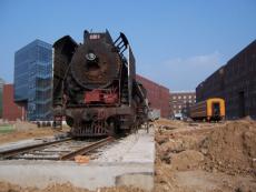 转让蒸汽机车火车头出售上游二手蒸汽火车头