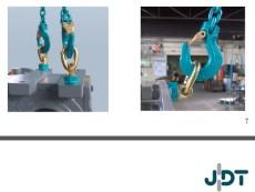 德國起重吊鏈吊裝VIP 100級鏈條 JDT吊環