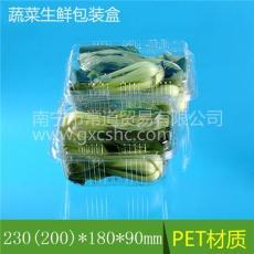 蔬菜盒打包盒 透明生鮮包裝盒 豐盛果盒