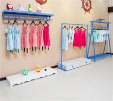 童裝店裝修貨架 童裝貨架 童裝貨架擺設圖片
