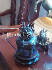 上海沉香熏爐藝術品銅香爐藝術品鑄造手工制