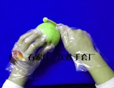 食品級用途一次性塑料手套