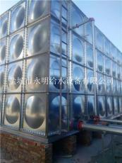 不锈钢螺栓连接水箱 BDF镀锌钢板水箱 地埋