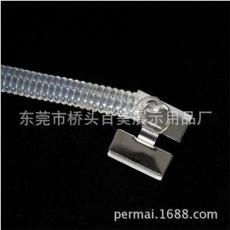 现货特价数码产品透明弹簧绳 拉伸防盗器